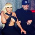 Blac Chyna et Rob Kardashian à Los Angeles le 12 avril 2016.