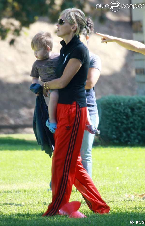 Sharon Stone et Quinn