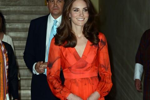 Kate Middleton : Eblouissante après la rando, au revoir sur mesure au Bhoutan
