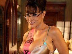 REPORTAGE PHOTOS : Larry Flint réalise un film X avec le sosie de Sarah Palin !