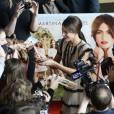 """Martina Stoessel - Avant-première du film """"La nouvelle vie de Violetta"""" au cinéma UGC Ciné-Cité La Défense à Paris, le 24 avril 2016. © Coadic Guirec/Bestimage"""