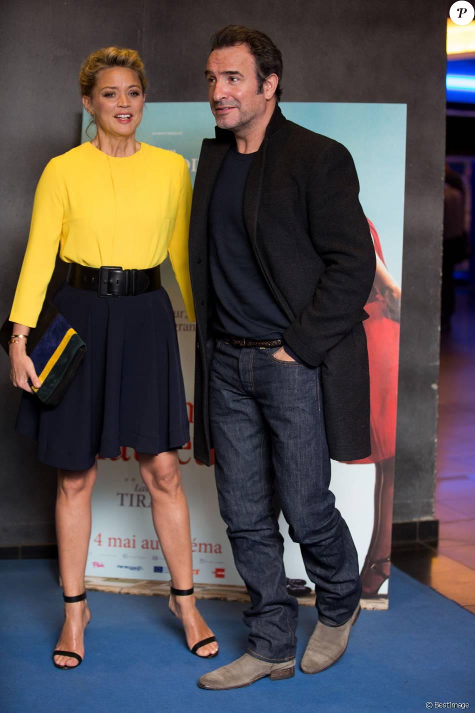 Jean dujardin virginie efira lors de l 39 avant premi re du for Film 2016 jean dujardin