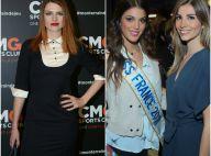 Élodie Frégé charmeuse face à des Miss glamour pour une soirée sportive