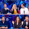 Rayane Bensetti et les chroniqueurs de  L'Hebdo Show  d'Arthur, le vendredi 29 avril 2016.