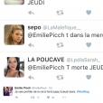 Emilie Picch (Mad Mag) menacée sur Twitter