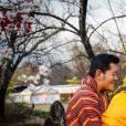 Le roi Jigme Khesar du Bhoutan avec leur fils lors de photos officielles publiées le 20 février