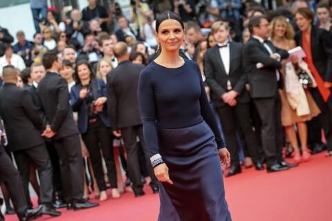 Cannes 2016 : Juliette Binoche superbe devant Anne-Sophie Lapix