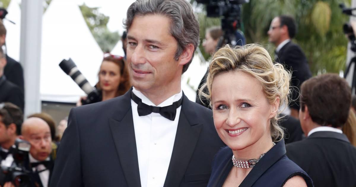 Caroline roux et son mari laurent solly mont e des marches du film ma loute lors du 69 me - Charlotte de turckheim et son mari ...