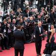 Hatem Ben Arfa avec Angela Donava (Dona PR) au Festival de Cannes le 16 mai 2016 lors de la montée des marches pour la projection du film Loving de Jeff Nichols. ©Borde-Jacovides-Moreau