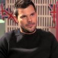 Taylor Lautner a-t-il pris quelques kilos en plus ? (capture d'écran d'une émission de BBC Three.)