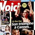"""Couverture du magazine """"Voici"""", dans lequel Jean-Luc Lahaye donne une interview, en kiosque le vendredi 20 mai 2016"""