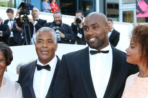 Teddy Riner si classe avec sa chérie Luthna et sa famille au Festival de Cannes