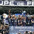 - Finale de la coupe de France de football (PSG / OM) au Stade de France le 21 mai 2016. C'était le dernier match de Zlatan Ibrahimovic avec le maillot du PSG. Le PSG remporte le match 4 à 2.