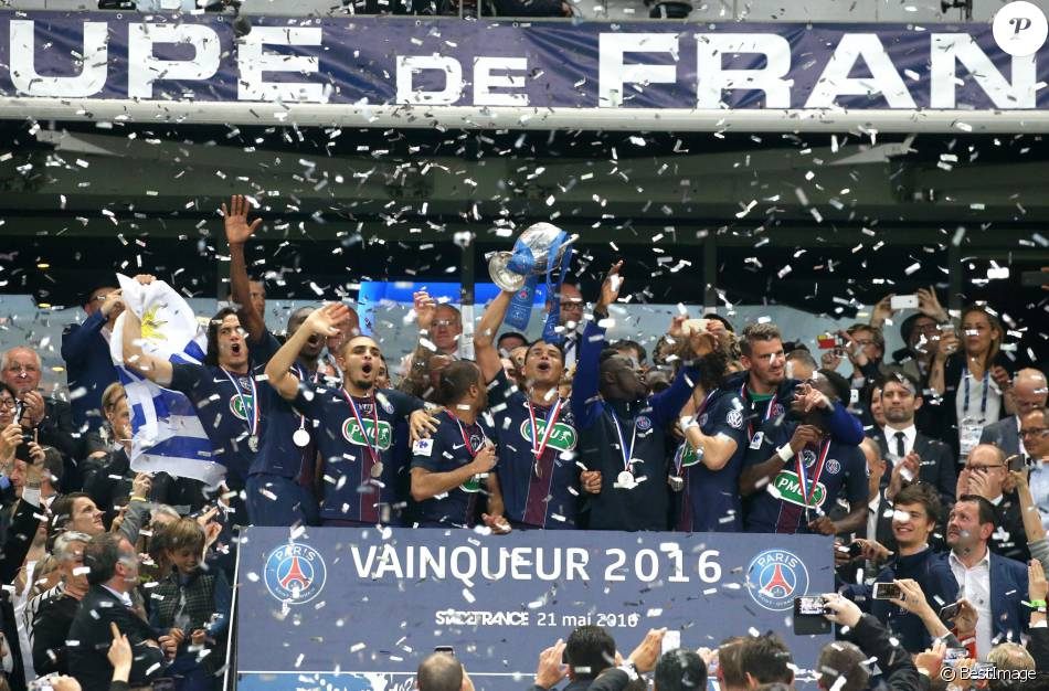 Finale de la coupe de france de football psg om au stade de france le 21 mai 2016 c 39 tait - La coupe de france de football ...