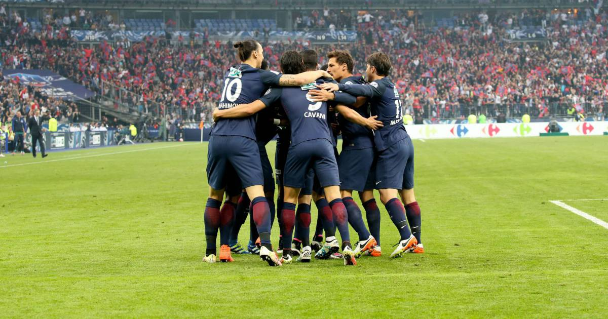 Finale de la coupe de france de football psg om au stade de france le 21 mai 2016 le psg - La coupe de france de football ...