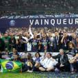 Finale de la coupe de France de football (PSG / OM) au Stade de France le 21 mai 2016. Le PSG remporte le match 4 à 2.