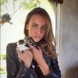 Carla Ginola, fille de David Ginola, sur Instagram en avril 2016