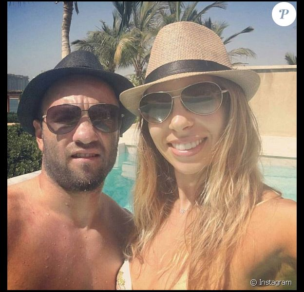 Mathieu Valbuena et sa compagne Fanny : heureux en vacances à Dubaï
