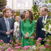 Kate Middleton, William, Beatrice et Eugenie : En famille au paradis des fleurs