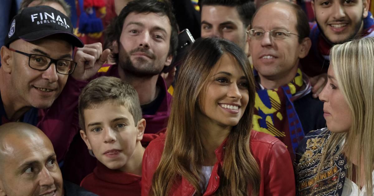 Antonella roccuzzo compagne de lionel messi le fc - Resultat de la coupe du roi en espagne ...