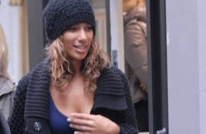 REPORTAGE PHOTOS : Leona Lewis cherche sa tenue avant les MTV Europe Music Awards !