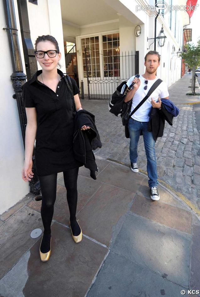 Anne Hathaway et son nouveau boyfriend Adam Shulman