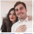 Sara Carbonero, Iker Casillas et leur fils Martin, 2 ans, photo Instagram lors du nouvel an 2016.