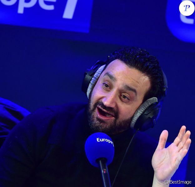 Exclusif - Cyril Hanouna présente 'Les pieds dans le plat' - Journée spéciale du 60e anniversaire de la radio Europe 1 à Paris le 4 février 2015.