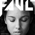Alicia Keys au naturel en couverture du magazine Fault