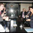 Rachida Dati en visite visite officielle à Zagreb