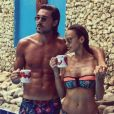 Vanessa Lawrens et Julien Guirado  en maillot de bain, sur Instagram