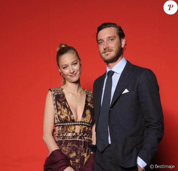 Beatrice Borromeo et son mari Pierre Casiraghi-Convivio 2016 à Milan. Le 7 juin 2016.