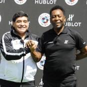 Euro 2016 : Pelé et Diego Maradona s'affrontent dans un duel de légende