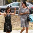 Courteney Cox et son ex mari David Arquette sont allés chercher leur fille Coco à l'école à Santa Monica, le 8 juin 2015