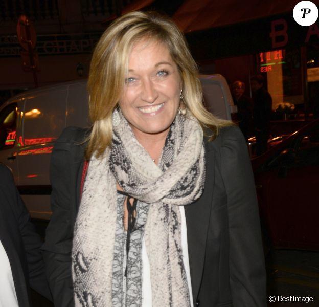 """Valérie Douillet - 1ère édition des """"Trophées du bien être"""" au profit de la fondation Mimi Ullens au Théâtre de la Gaité Montparnasse à Paris le 21 septembre 2015."""