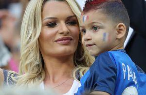 Euro 2016 : Les Bleus soutenus par leurs chéries et leurs enfants