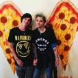 Paris Jackson et son petit ami Michael Snoddy. Photo publiée sur sa page Instagram, au début du mois de juin 2016