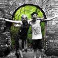 Michael Snoddy et sa petite amie Paris Jackson, fille du regretté Michael Jackson. Photo publiée sur sa page Instagram en juin 2016
