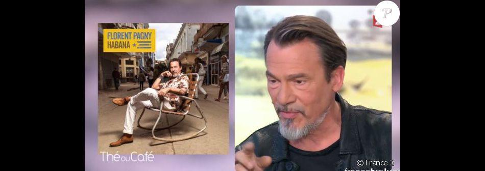 """Florent Pagny invité dans """"Thé ou café"""", samedi 18 juin 2016, sur France 2"""