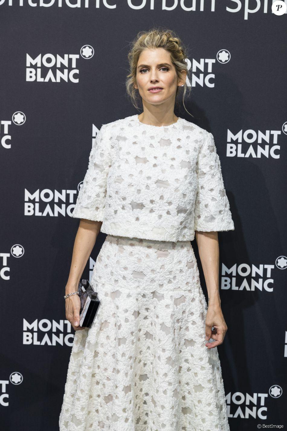 Alice Taglioni - Présentation de la nouvelle collection maroquinerie Montblanc Urban Spirit à Paris le 21 juin 2016. © Olivier Borde / Bestimage