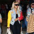 Blac Chyna arrive à l'aéroport LAX de Los Angeles. Le 21 juin 2016