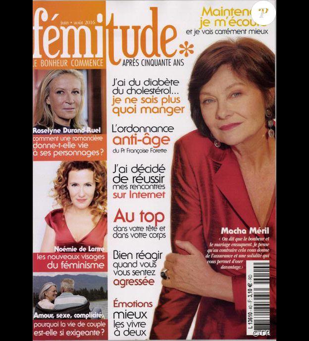 Le magazine Fémitude de juin-juillet-août 2016