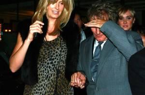 REPORTAGE PHOTOS : Rod Stewart a-t-il honte de sortir sa panthère pour aller dîner avec sa fille ?