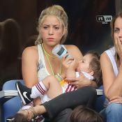Euro 2016 – Shakira : Mine fatiguée avec Sasha, assiste au désastre de l'Espagne