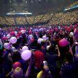 Céline Dion en concert à l'AccorHotels Arena, devant 18 000 personnes, à Paris, le 24 juin 2016. © Dominique Jacovides/Bestimage