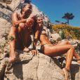 Photo de Christina Milian et Karrueche Tran publiée le 15 juillet 2016.