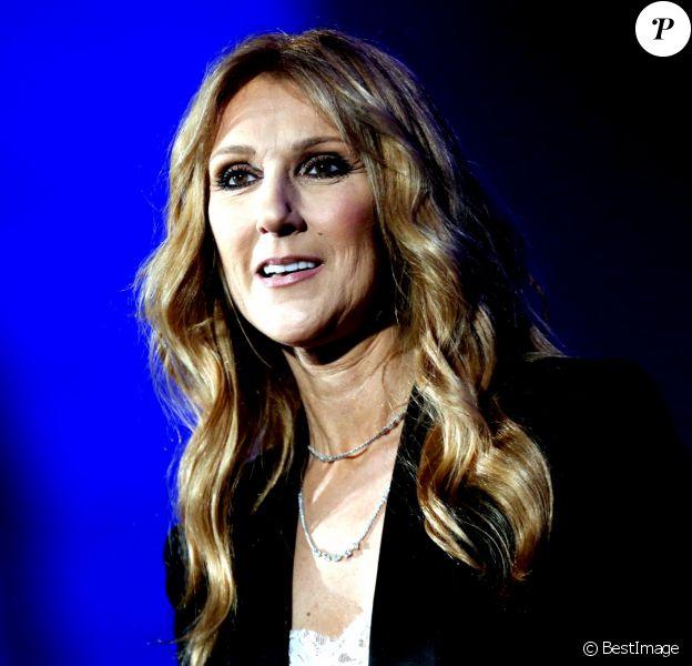 Céline Dion en concert à l'AccorHotels Arena à Paris, le 24 juin 2016.  © Dominique Jacovides/Bestimage C