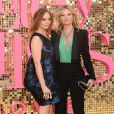 "Stella McCartney et Kate Moss assistent à l'avant-première mondiale du film ""Absolutely Fabulous: The Movie"" à Londres, le 29 juin 2016."