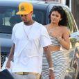 Kylie Jenner et Tyga à Hollywood, le 14 avril 2015.