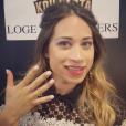 """Cécilia dans sa loge, le soir de la finale de Koh Lanta Thaïlande"""